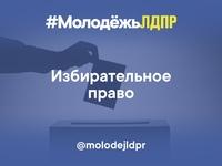 Друзья, команда #МолодёжьЛДПР подготовила для вас тест на знание избирательного права!