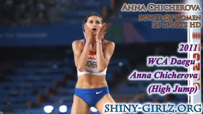 2011 WCA Daegu Anna Chicherova High Jump