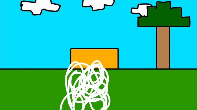 Анимация майнкрафт ( в реальном жизни) 1 день