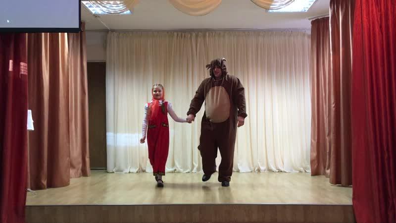 Маша и Медведь С дочкой выступили Жду предложений по съёмкам в блокбастерах