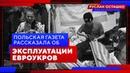 Польская газета рассказала об эксплуатации рабочей силы из Украины Руслан Осташко