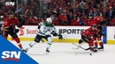 Alexander Radulov Dekes Past Three Flames To Score On David Rittich