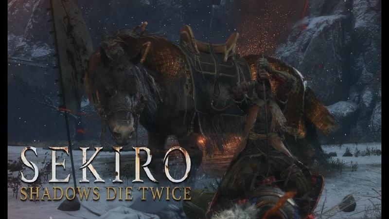 Sekiro Shadows Die Twice русская озвучка на ПК 8 Всадник на коне