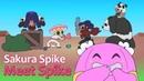 BRAWL STARS ANIMATION SAKURA SPIKE Parody