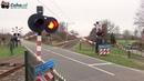 Spoorwegovergang Laag Zuthem 😍4K😍 Dutch railroad crossing