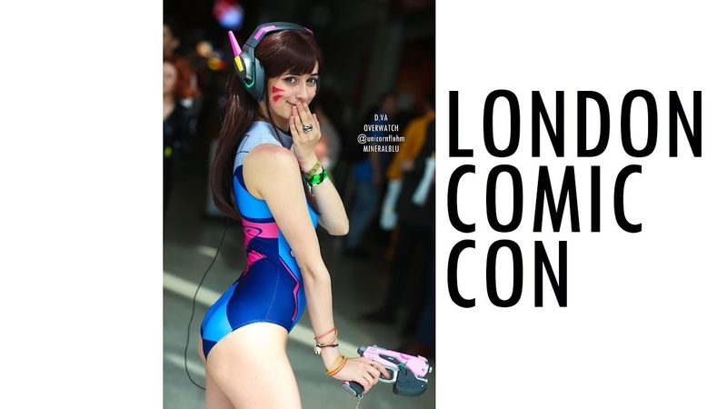 THIS IS MCM LONDON COMIC CON 2019 COSPLAY MUSIC VIDEO MAY MCM EXPO EUROPE VLOG ANIME ASMR