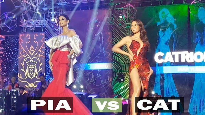 Miss Universe 2015 PIA WURTZBACH and Miss Universe 2018 CATRIONA GRAY Show their hottest Catwalk