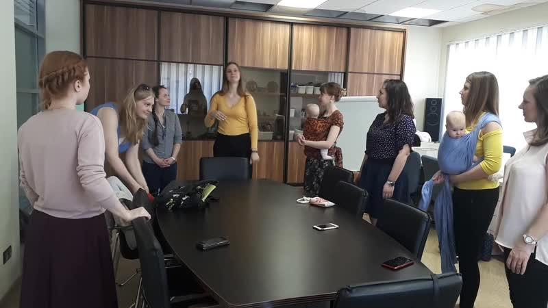 Тренинг со Златой для финалисток конкурса Слингомама Карелии 2019
