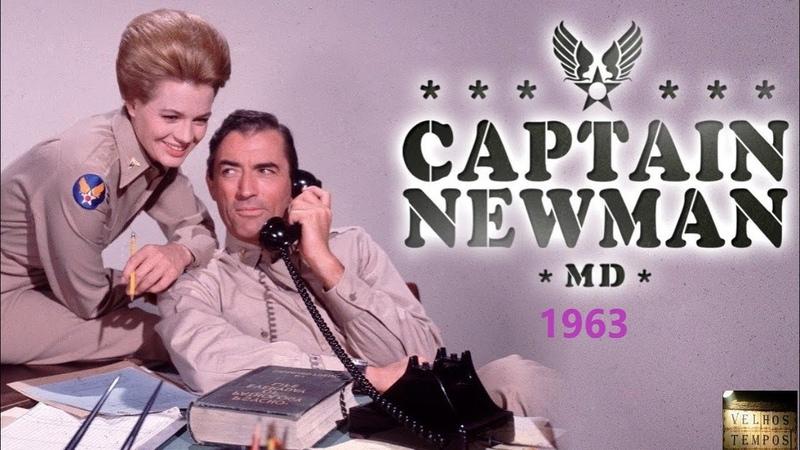 O Combate do Capitão Newman 1963 Gregory Peck e Tony Curtis Filme Completo Legendado
