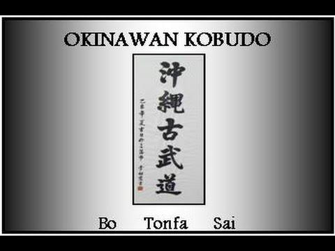 Okinawan Kobudo... Bo ~ Tonfa ~ Sai