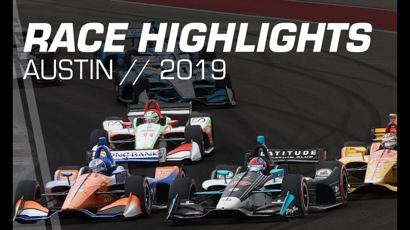 2019 NTT INDYCAR Series: Austin Race Highlights