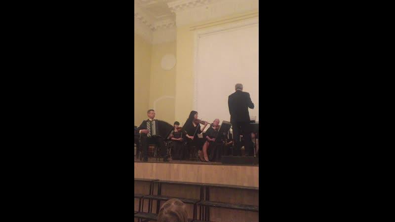 Симфония для солирующего баяна (баян Сергей Яковлев)