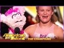 Darci Lynne: Shocks Judges Again and PROVES Why She's a World Champion! | AGT Champions