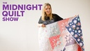 Milky Way Sawtooth Star Fat Quarter Quilt | Midnight Quilt Show with Angela Walters