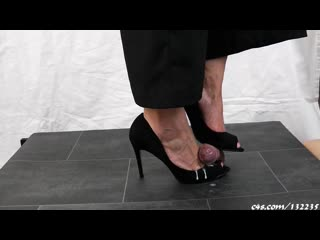 Lady sidoro cock trample cumshot compilation / foot fetish