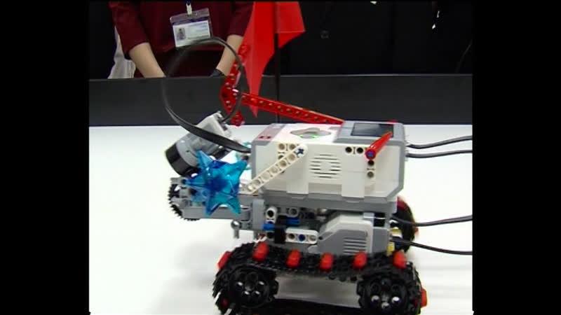 Лаборатория робототехники открылась в городе
