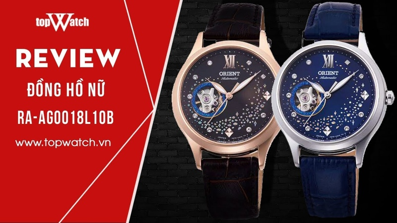 [REVIEW] - ĐỒNG HỒ NỮ - Orient cơ RA-AG0017Y10B, RA-AG0018L10B  Topwatch.vn