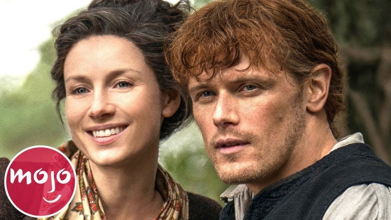 Top 10 Best Jamie Claire Moments on Outlander
