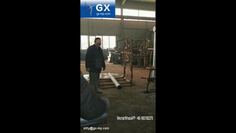 Ground screw production line