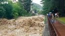Кадры с GoPro Мощный потоп в Сочи