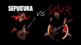 Sepultura VS Slayer (Guitar Riffs Battle)