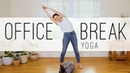 Office Break Yoga | 14 Min. Yoga Practice | Yoga With Adriene