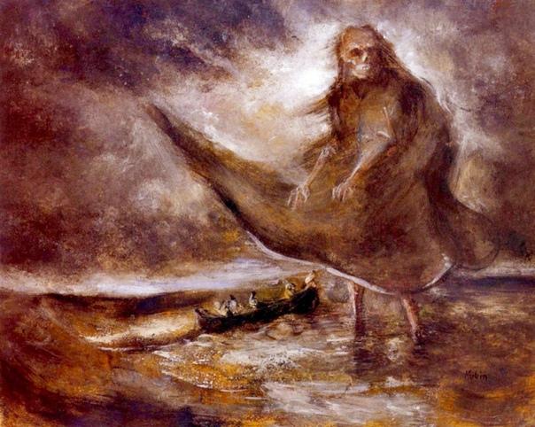 « одного шедевра». «Дух воды», Альфред Кубин