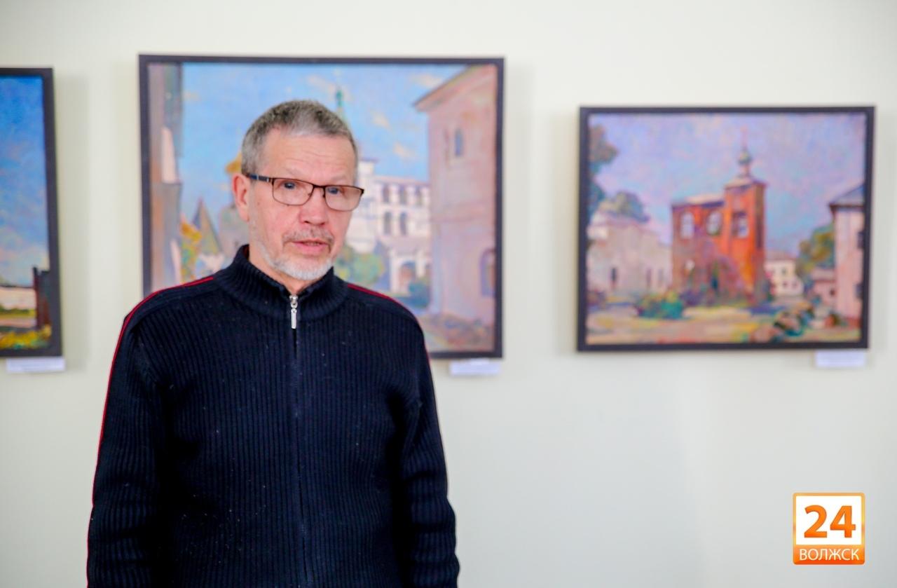 В Волжске открылась необычная выставка живописи «Русская Атлантида»