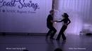 Artur Radzikhovskii Ilmira Galieva, Pro Show, Winter Coast Swing 2019, Finland