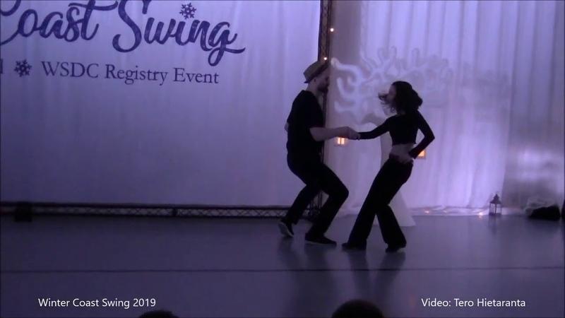 Artur Radzikhovskii Ilmira Galieva Pro Show Winter Coast Swing 2019 Finland