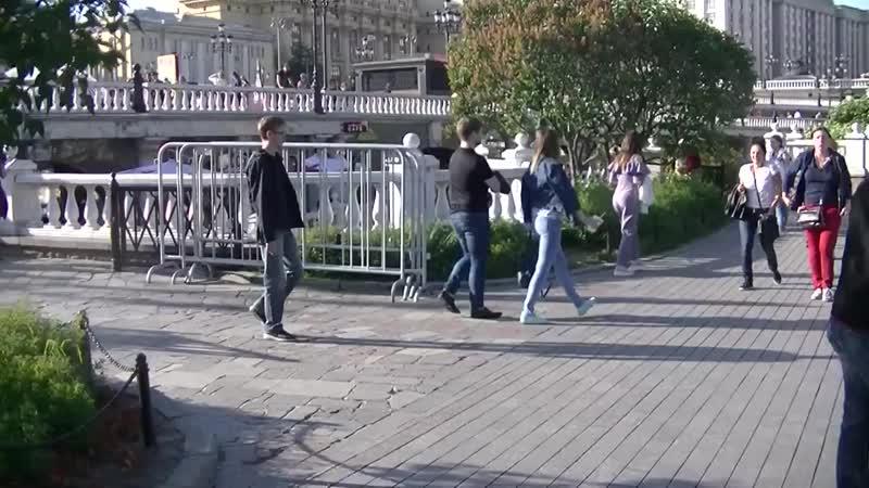 Москва В Александровском Саду 1