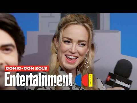 DC's Legends Of Tomorrow's Caity Lotz, Brandon Routh More LIVE | SDCC 2019 | Entertainment Weekly
