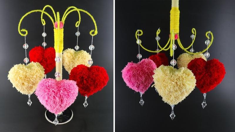 উলের সুতা দিয়ে নাইস ক্র্যাফট আইডিয়া   Diy Mind-Blowing Woolen Craft !