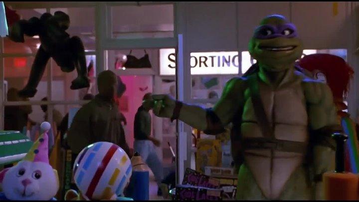 Черепашки-ниндзя 2 Тайна изумрудного зелья 1991