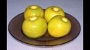 Печеные яблоки в микроволновке Baked apple