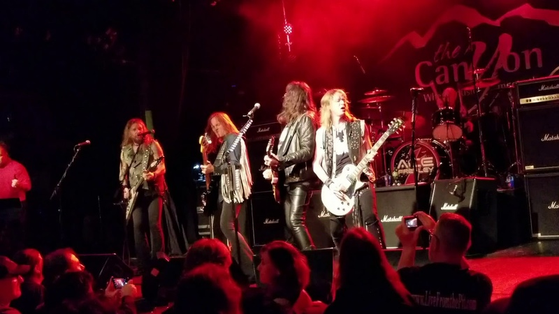 ACE FREHLEY LIVE 1 27 2019 @ THE CANYON CLUB in AGOURA HILLS CA