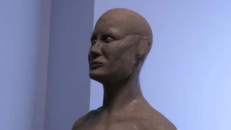 Captain Marvel Sculpture Timelapse - Captain Marvel