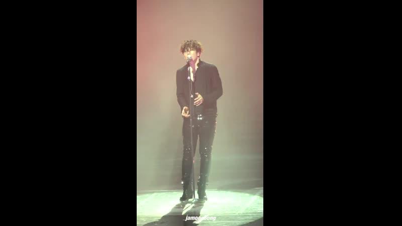 190713 박효신(PARK HYO SHIN) 콘서트 LOVERS Goodbye (굿바이 세로 ver.)
