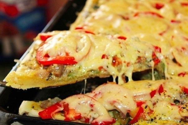 Пицца, которая сведет вас с ума!)
