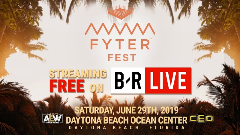 Saturday, June 29th B/R Live will broadcast FyterFest Live for FREE!