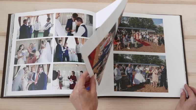 Свадебная фотокнига Инги и Влада