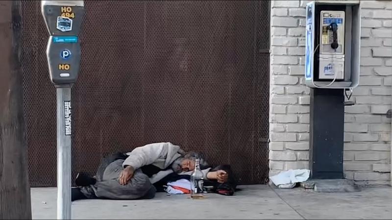 День 2. Лос-Анджелес - город контрастов. Шок от бездомных. Дом из Назад в будущее
