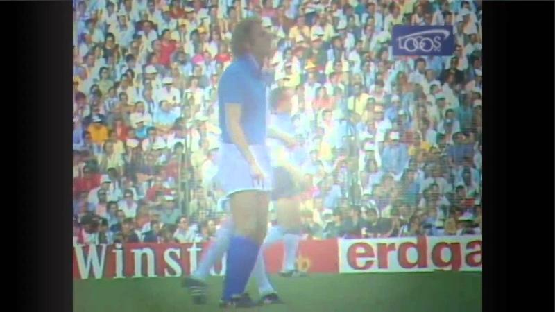 Finale Mondiale Calcio Spagna 1982 Italia Germania Ovest