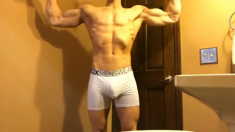 Tights For Men Yes or No (Trying On White Compression Boxers)~2.mp4