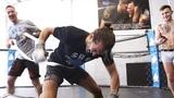 THE TOUGHEST WORKOUT OF MY LIFE MMA COACH JOHN KAVANAGH CONOR MCGREGOR UFC