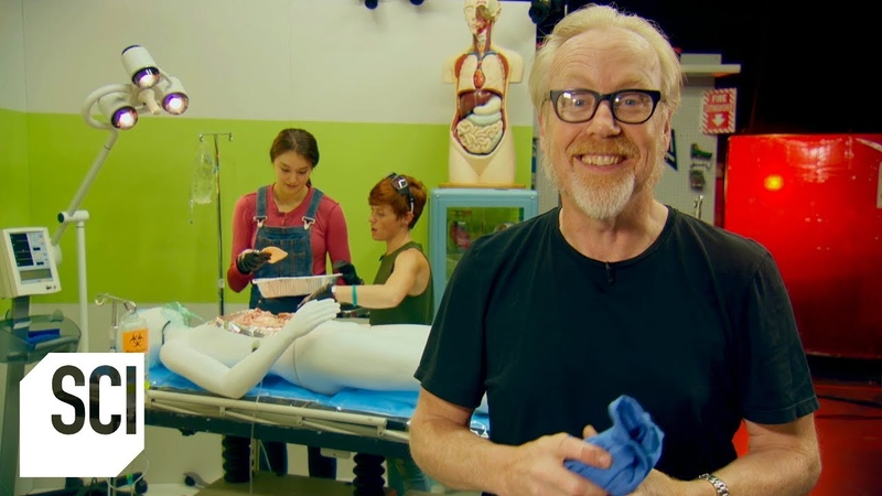Can a Patients Fart Ignite During Laser Surgery | MythBusters Jr.
