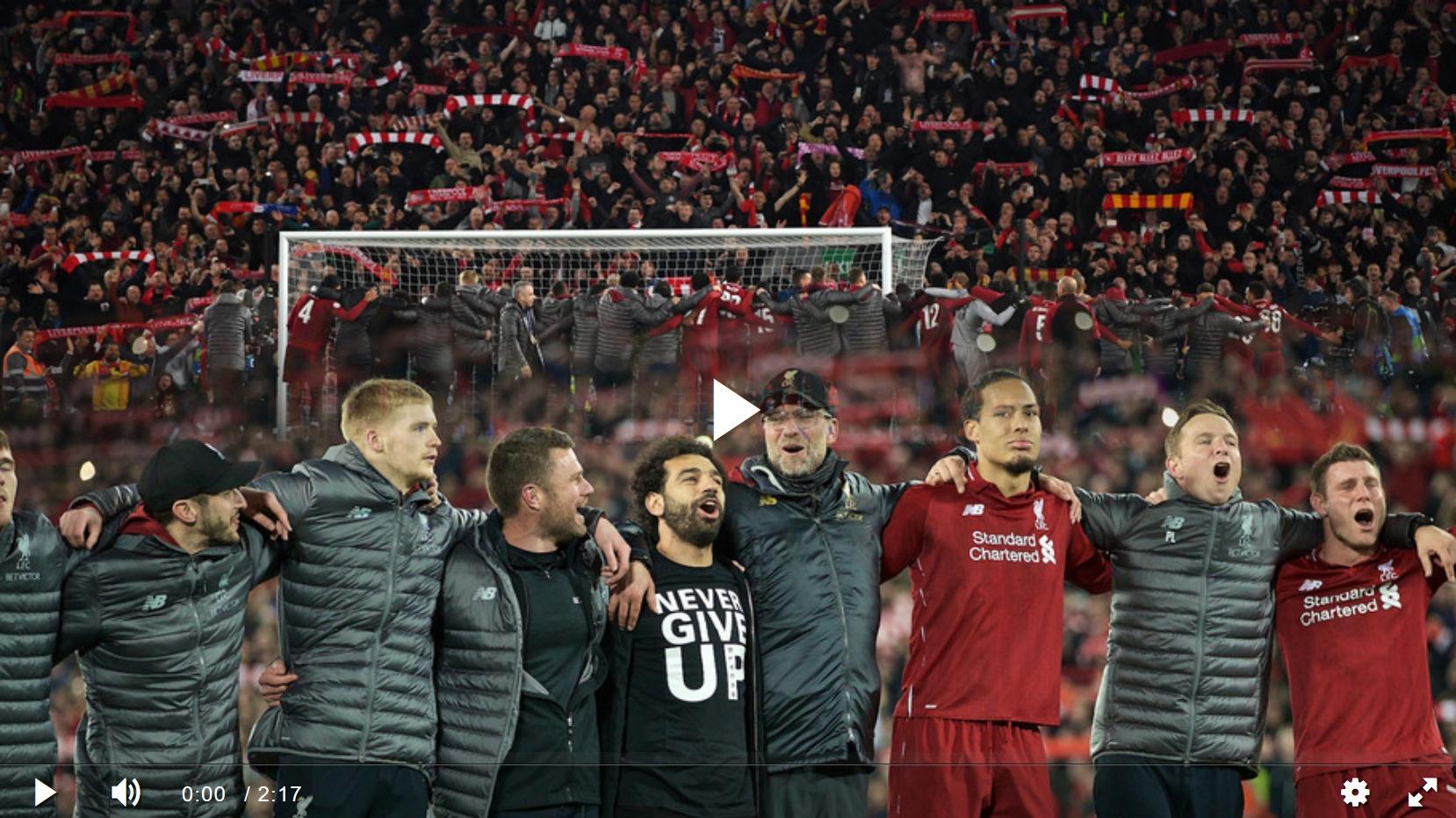 """Видео: """"Ливерпуль"""" - 4:0 (4:3) - """"Барселона"""". Лучший гол. Игрок матча."""