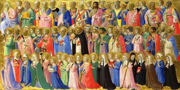 ДЕНЬ ВСЕХ СВЯТЫХ. 1 ноября католики празднуют День всех святых один из десяти главных праздников, имеющий ранг великого торжества. Дата праздника в православном церковном календаре переходящая -