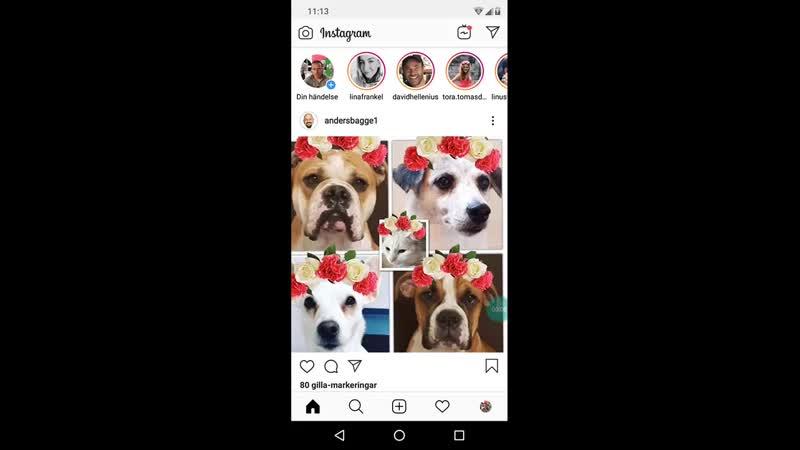 Så här ser det ut på Instagram 👍 Midsommarafton 21 juni år 2019