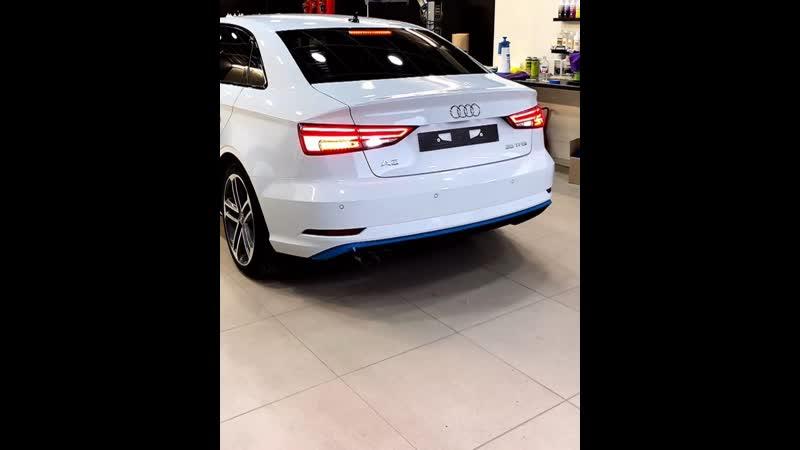 Audi A3 покрыт керамикой Ceramc Pro